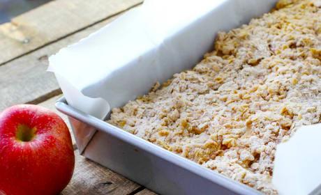 Apple Crisp Bars Recipe