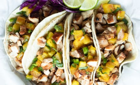 Hawaiian Chicken Tacos Photo