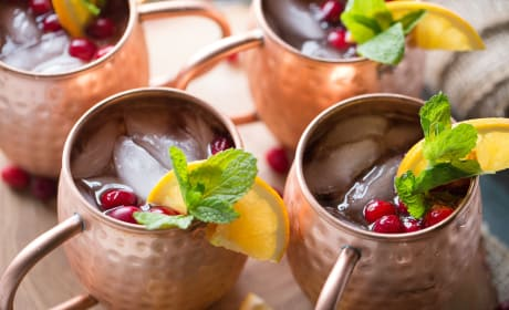 Cranberry Orange Moscow Mule Recipe