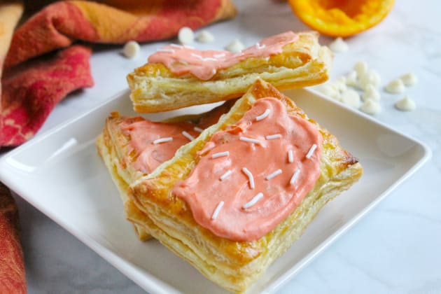 Orange Creamsicle Poptarts Photo