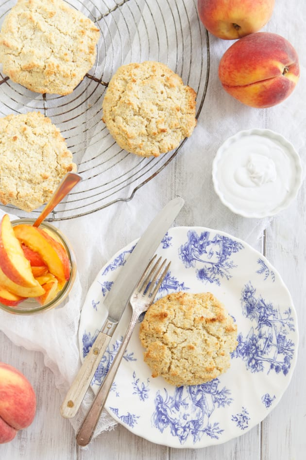 Paleo Peach Shortcake Image