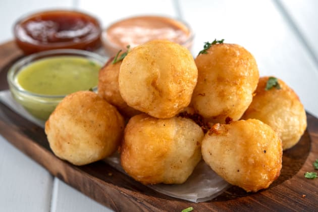 Cheese Stuffed Yuca Photo