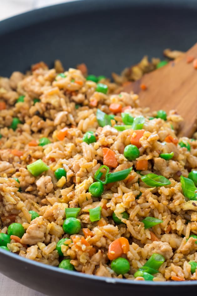 Gluten Free Turkey Fried Rice Picture