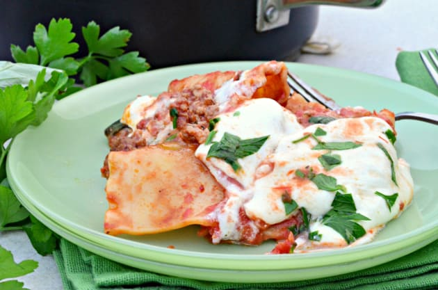 One Pot Lasagna Photo