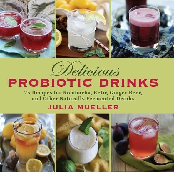 Delicious Probiotic Drinks Book
