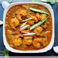 Ginger Garlic Prawn Curry