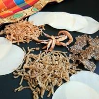 Arisi Karuvadam - Rice sundries