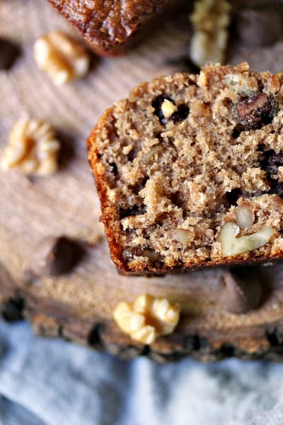 Peanut Butter Chocolate Banana Bread Picture