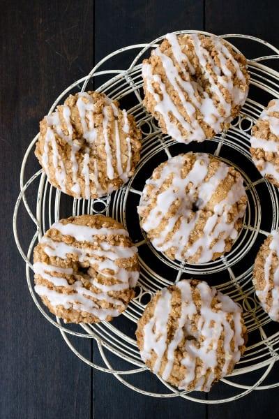 Cinnamon Crumble Donuts Image