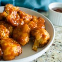 Paleo Baked BBQ Cauliflower Wings Recipe