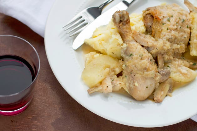 Chicken Calvados Image
