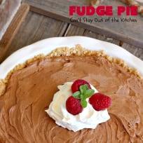 Fudge Pie