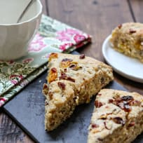 Orange-Spiced Raisin Pecan Scones Recipe