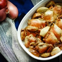 Baked Rosemary Chicken with Apples Recipe
