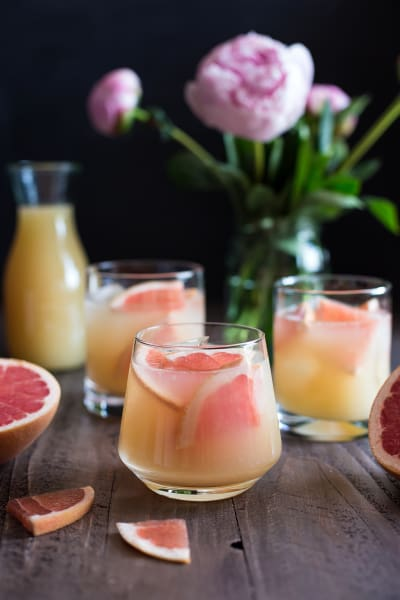 Bourbon Grapefruit Cocktail Image