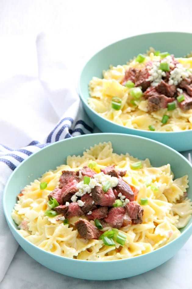 File 1 - Steak Gorgonzola Pasta