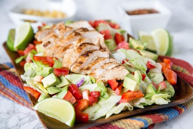 Chicken Fajita Salad Image
