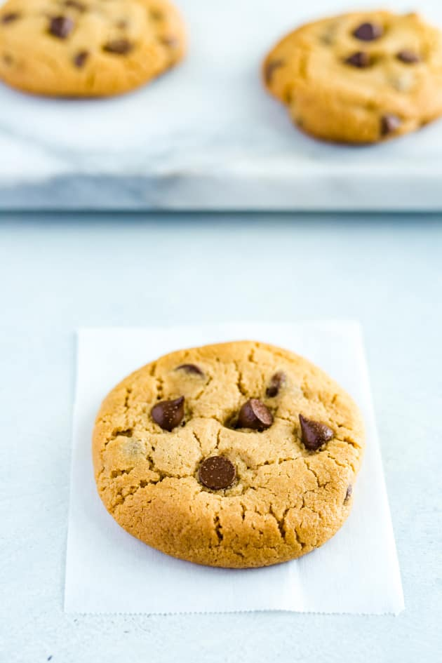 Gluten Free Peanut Butter Chocolate Chip Cookies Image