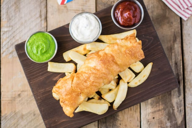British Fish & Chips Photo