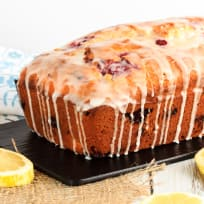Glazed Raspberry Lemon Bread Recipe
