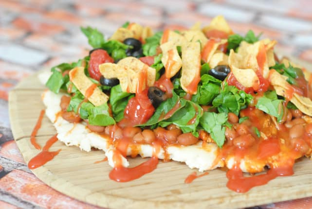 Grilled Chicken Taco Pizza Recipe