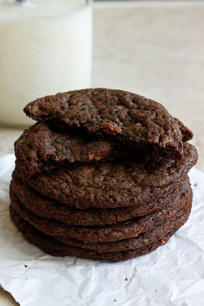 Toffee Nutella Cookies Picture
