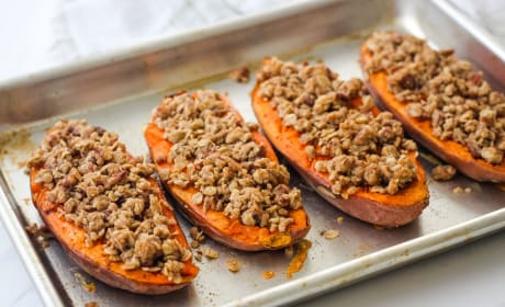 Streusel Topped Sweet Potatoes Recipe