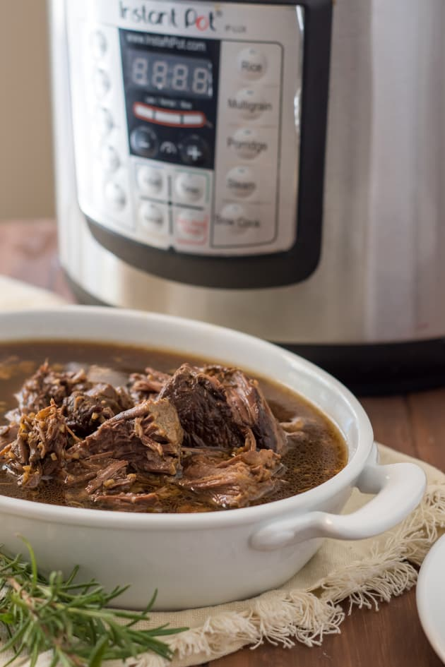 Instant Pot Gluten Free French Dip Sandwiches Image
