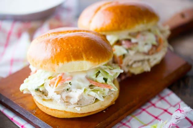 Ranch Pulled Chicken Sandwich Photo