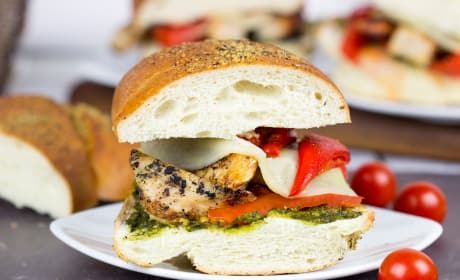 Grilled Chicken Pesto Sandwich Recipe