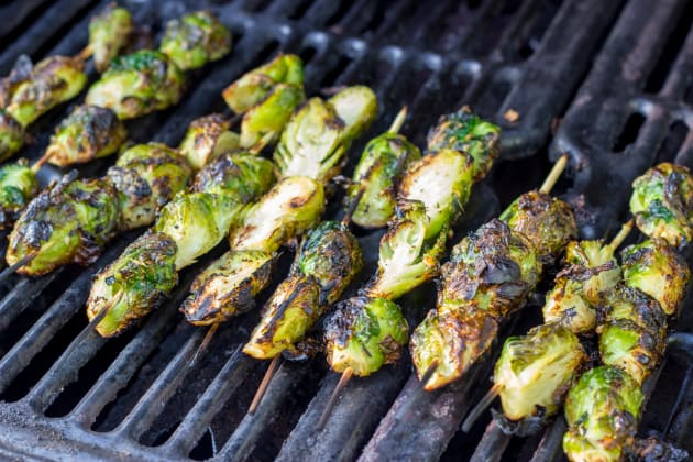 Grilled Brussels Sprouts Image