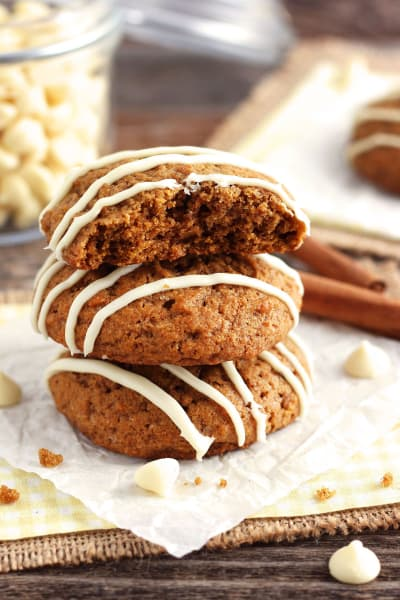 Small Batch Pumpkin Spice Cookies Pic