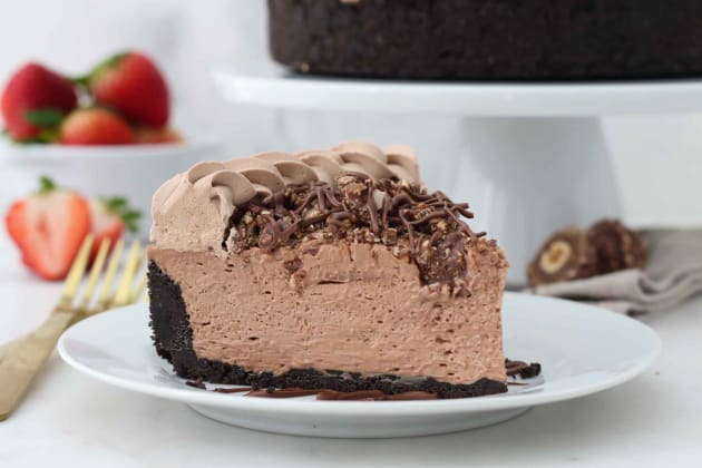 No Bake Nutella Cheesecake Photo
