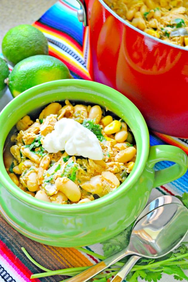 Quick White Bean Chicken Chili Picture