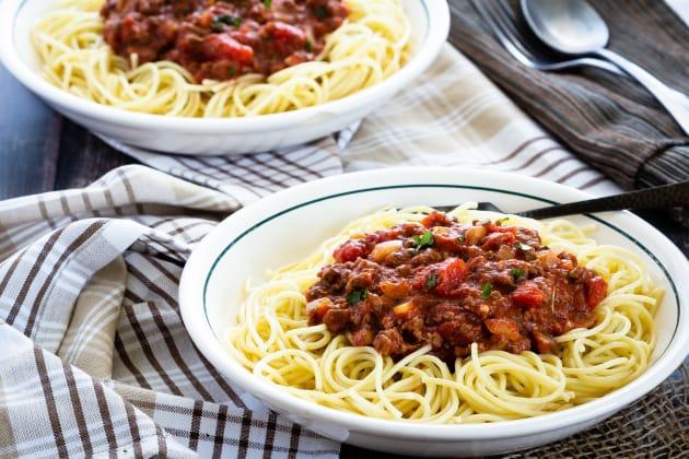 Homemade Spaghetti Sauce Photo