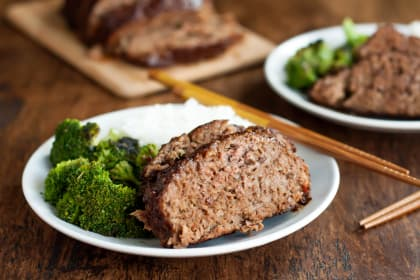 Gluten Free Teriyaki Meatloaf