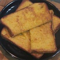 Crispy-Custardy Air Fryer French Toast with a Twist