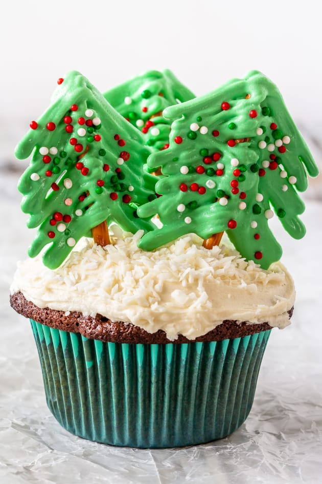 File 1 - Christmas Tree Cupcakes