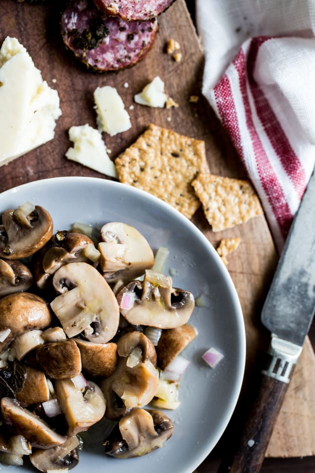 Marinated Mushrooms Picture