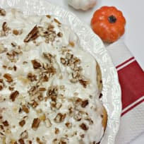 Apple Cinnamon Roll Coffee Cake & Apple Cream Cheese Icing