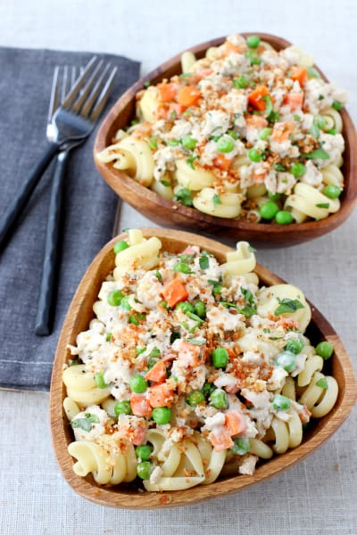 Pasta with Creamy Turkey Bolognese
