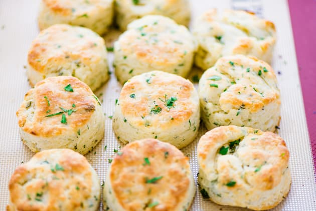Gluten Free Garlic Herb Biscuits Photo