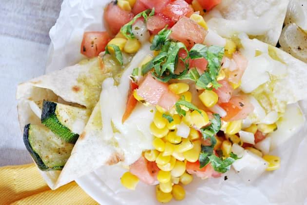 Vegetarian Enchiladas Picture