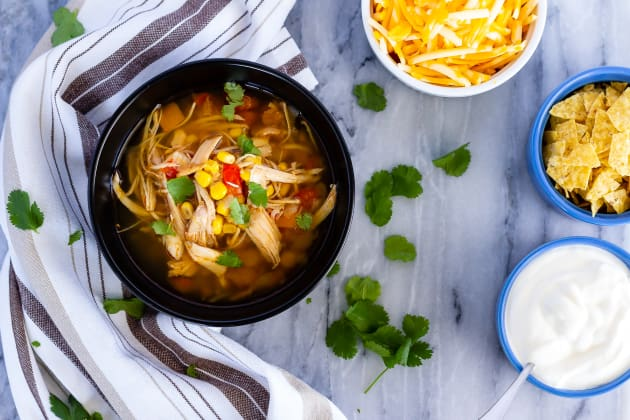 Instant Pot Chicken Taco Soup Photo