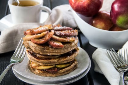 Apple Cinnamon Pancakes: Fall's Favorite Flavor