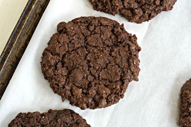 Double Chocolate and Espresso Cookies Picture