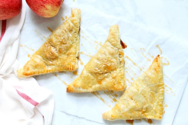 Puff Pastry Apple Pie Turnovers Photo