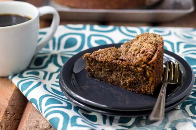 Espresso Streusel Coffee Cake Recipe