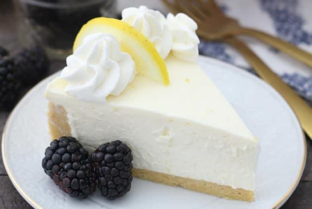 No Bake Lemon Cheesecake Photo