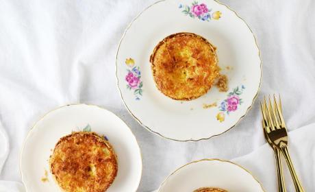 Toasted Coconut Cream Tarts
